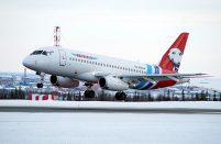 Yamal currently operates three SSJ 100