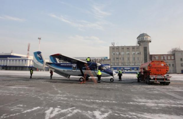 SiLA made its first flight in Siberia to Abakan