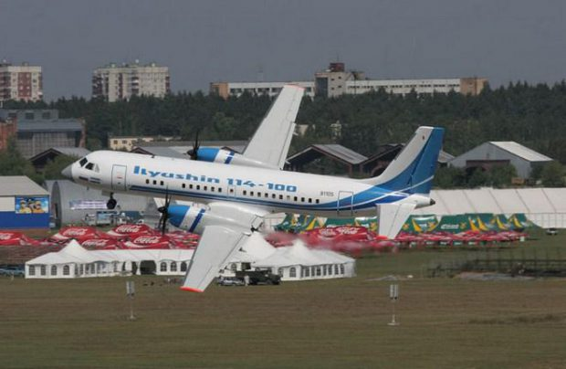 Deliveries of completely Russian-produced Il-114-300 turboprops are expected to begin in 2021