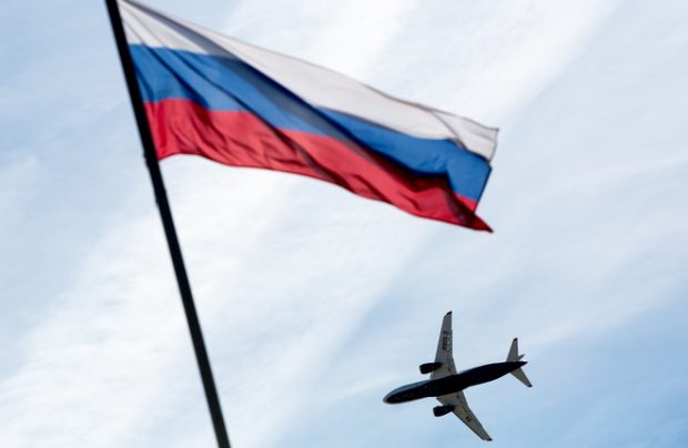 Russia international air travel