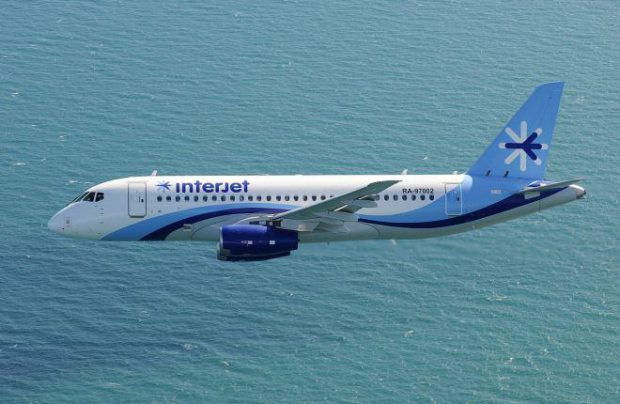 Half of Interjet's SSJ 100 fleet was grounded due to defects in stabilizer attachment unit