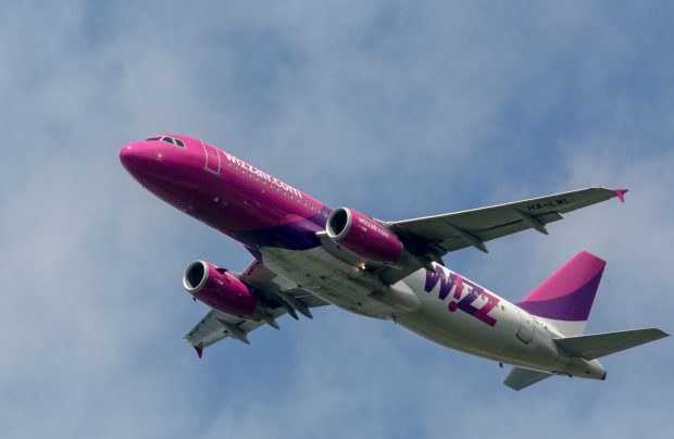 The planned expansion will increase the number of seats on Wizz Air flights from the Kyiv by 64%