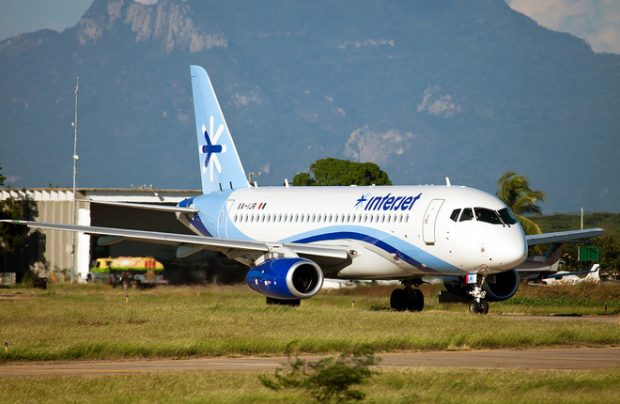 Interjet currently operates 22 Sukhoi Superjets 100s