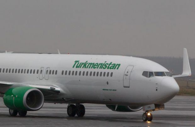 Turkmenistan Airlines takes delivery of another Boeing 737-800