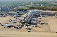 Russia's largest airport served 2.687 million passengers in the first month of 2017