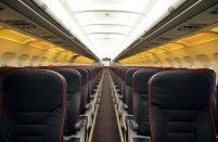 So far the seats have been changed on just one of Ural Airlines' A320s