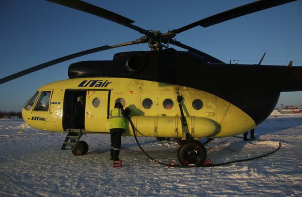 UTair launches satellite tracking of its helicopter fleet