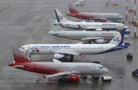 The updated data shows that the Russian airlines carried 6.1 million passengers in February