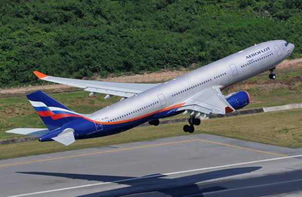 Aeroflot carried 2.303 million passengers in January 2017