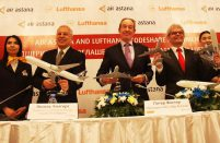 Code-share agreement between Air Astana and Lufthansa cover flights between Frankfurt and Kazakhstan's cities of Almaty and Astana