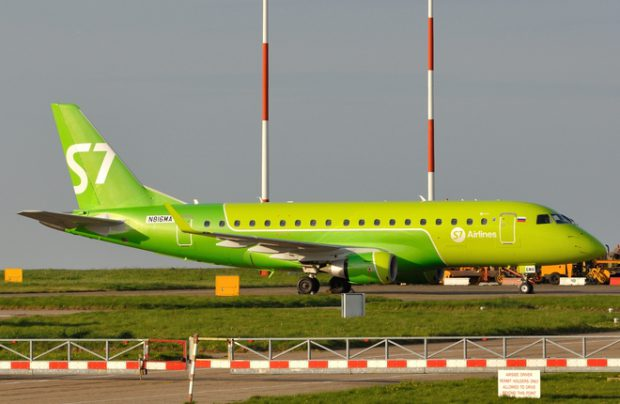 S7 Airlines is rebranding and looking to expand its domestic presence with Brasilian regional jetliners