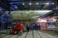 The reinforcement effort will precede the MC-21's first flight