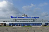 The Kyrgyz government has plans for Osh airport as a potential transit hub