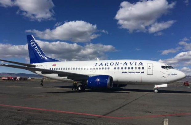 Taron-Avia is set to become Armenia's second carrier to offer regular services to Russia
