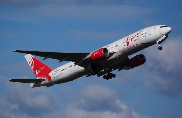 VIM Airlines, which operated no widebody airliners until 2016, has been reporting a passenger traffic growth
