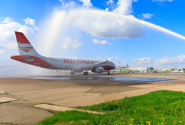 Red Wings is planning to receive five more A320-family airliners