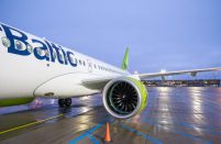airBaltic has seen a surge in passenger numbers on its Riga-Moscow route since the beginning of the year