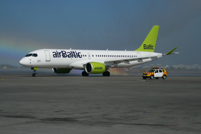 airBaltic intends to replace its ageing Boeing 737-300s and -500s with the new Bombardier jetliners eventually