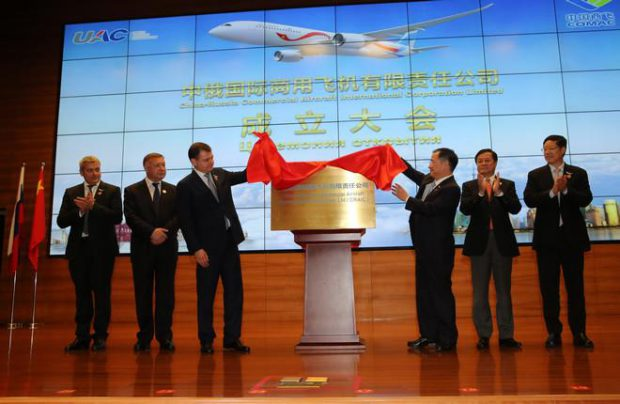 Russia, China, UAC, COMAC