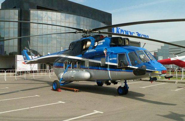 Russian Helicopters is also developing an offshore version of the Mi-171A2 for Gazprom