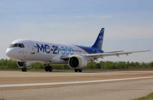The MC-21-300 prototype was rolled out in April