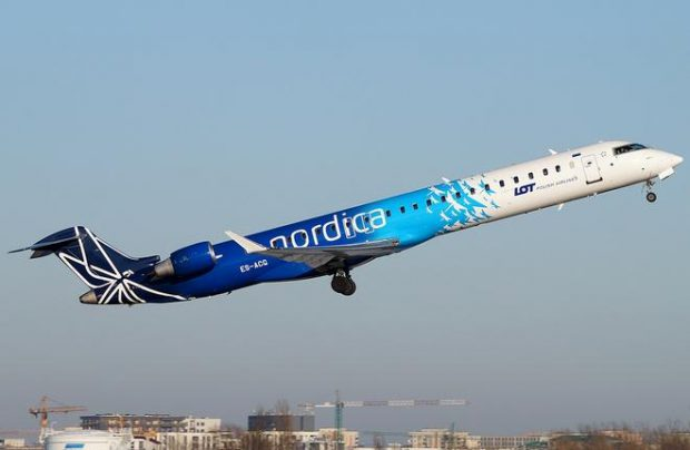 Nordica has been operating in conjunction with the Polish flag carrier since 2016