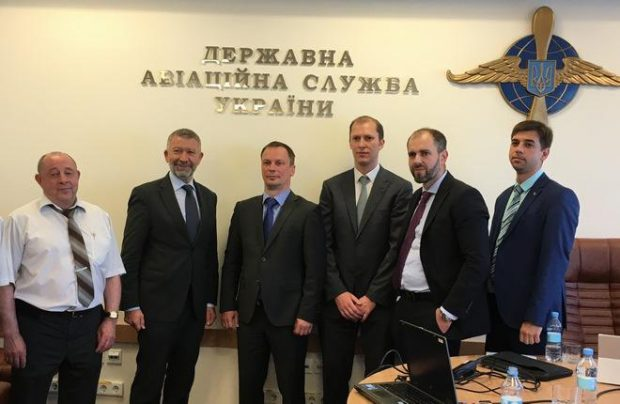 Ukraine's aviation authorities has entered into a three-year project with EASA