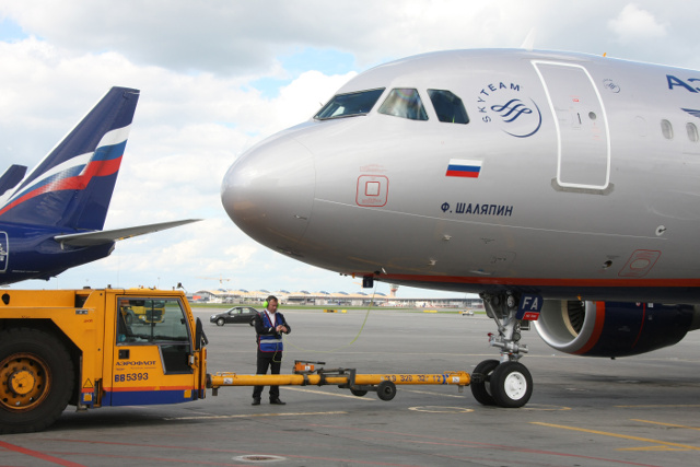 Aeroflot received three A320s and one A321
