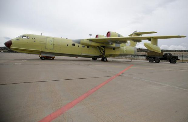 Beriev will deliver two Be-200 amphibians to the Chinese customer, with an option for two more
