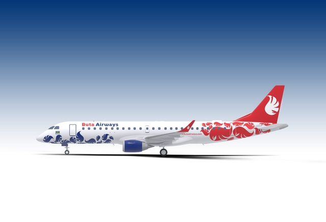 Buta Airways will operate Embraer regional jets