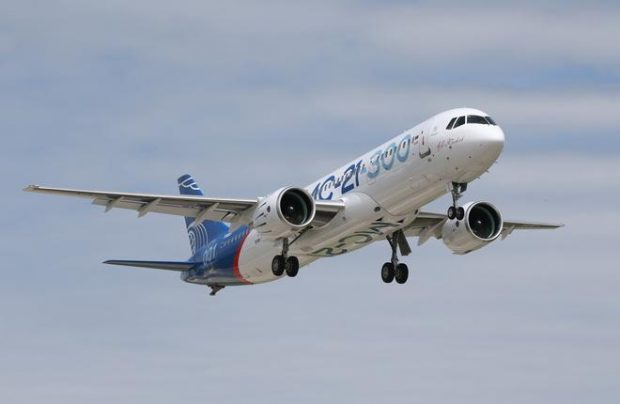 The prototype currently in testing is representative of the baseline MC-21 variant