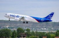 The MC-21-300 might get a Russian-designed powerplant as an engine option