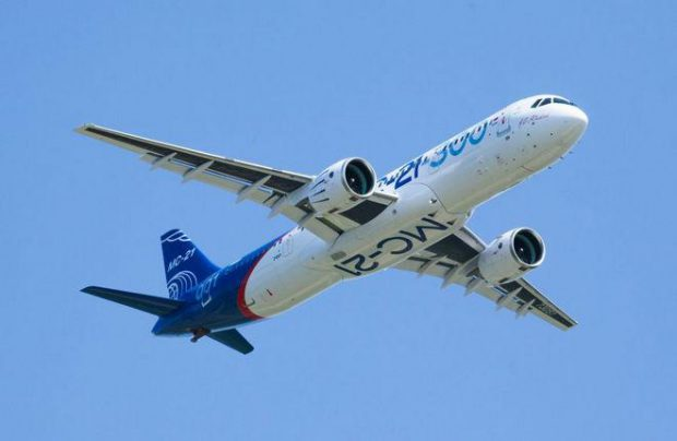 The MC-21-300 is the baseline variant of Russia's new narrowbody airliner family
