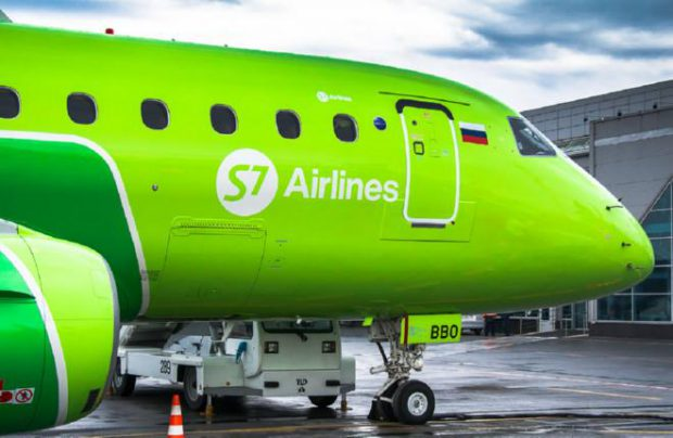 Engineering Holding will keep S7 Airlines' Embraer fleet via its two MRO subsidiaries