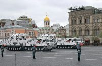 The Tor-M2DT was showcased at this year's May 9 Victory Parade in Moscow's Red Square (photo courtesy of Kupol Electromechanical Plant)