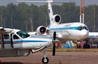 Cessna's Russian dealer is looking to have the 14-passenger Grand Caravan version certified locally