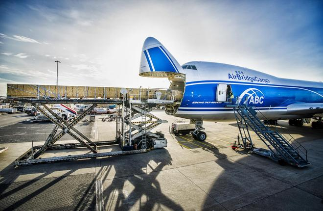 AirBridgeCargo also operates dedicated 737-400 airliners for sensitive cargo missions