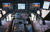 RPKB Ramenskoye is demonstrating its new system as part of the Kazan Helicopters Ansat rotorcraft's avionics suite
