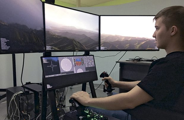 Unigine produces software for a number of flight simulators