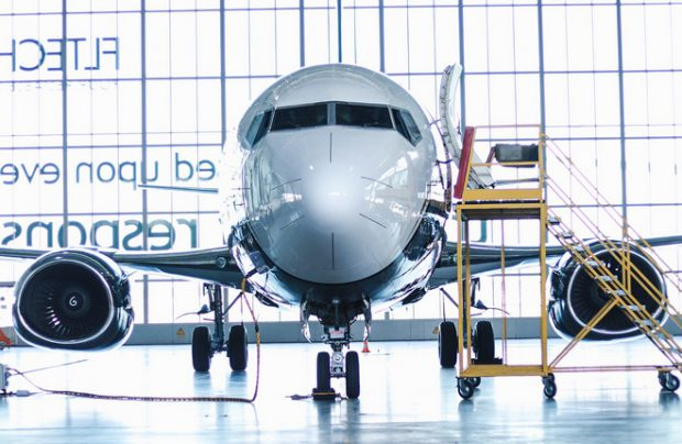 Prior to delivering the airliner AviaAM Leasing ordered its customization from FL Technics