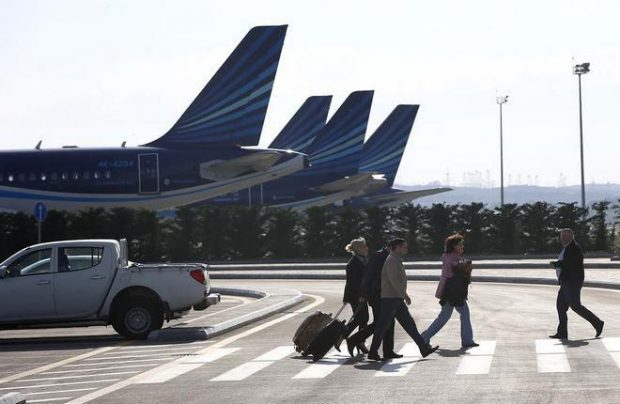 Traffic through Heydar Aliyev airport has been growing at a double-digit rate since the beginning of this year (AZAL)