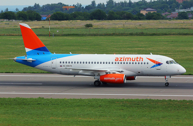 Azimuth Airlines will be flying directly between Russia's southern regions