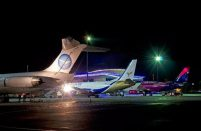 The two airports serving Kyiv together processed nearly 5.5 million passengers
