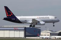 Brussels Airlines is operating its SSJ100B-100s to Stockholm's Bromma airport