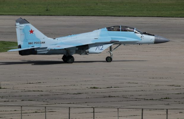 The MiG-35 is one of Russia's latest warplane developments