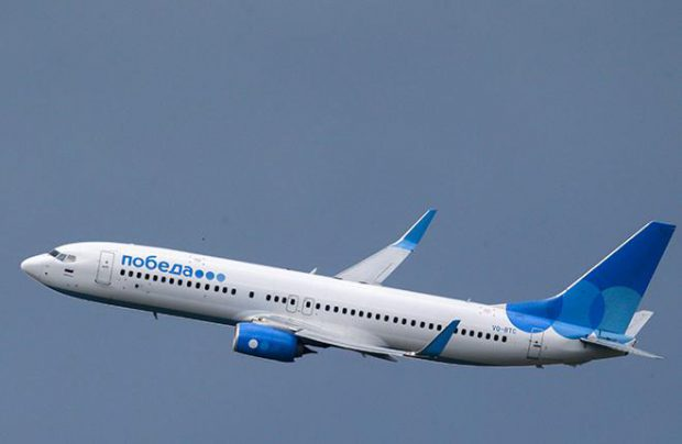 Pobeda Airlines operates a single-type 737-800 fleet