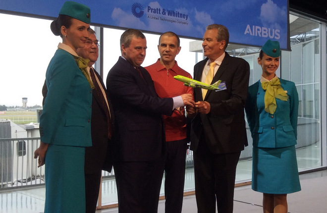 S7 Airlines has also ordered three A321neos to replace its 767 widebodies