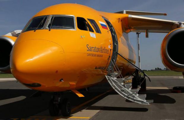 Saratov Airlines also operates Yak-42 and Embraer E195s