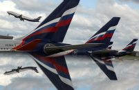 Aeroflot posted a low profit for the first half of the year but is still in the black