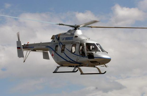 GTLK takes delivery of medevac Ansat helicopter